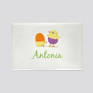 Easter Chick Antonia Rectangle Magnet