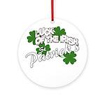 st patricks Ornament (Round)