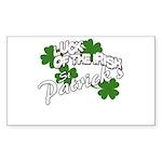 st patricks Sticker