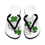 st patricks Flip Flops