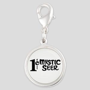 Twilight Zone - Mystic Seer Silver Round Charm