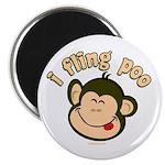 i fling poo Magnet