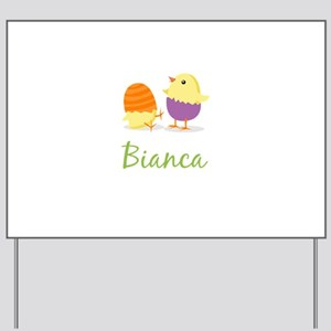 Easter Chick Bianca Yard Sign