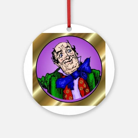 Wizard of Oz Purple Round Ornament