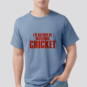 I'd Rather Be Watching Cricke Mens Comfort Colors