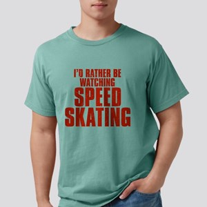 I'd Rather Be Watching Speed Mens Comfort Colors S