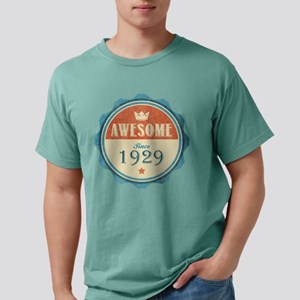 Awesome Since 1929 Mens Comfort Colors Shirt