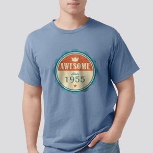 Awesome Since 1955 Mens Comfort Colors Shirt