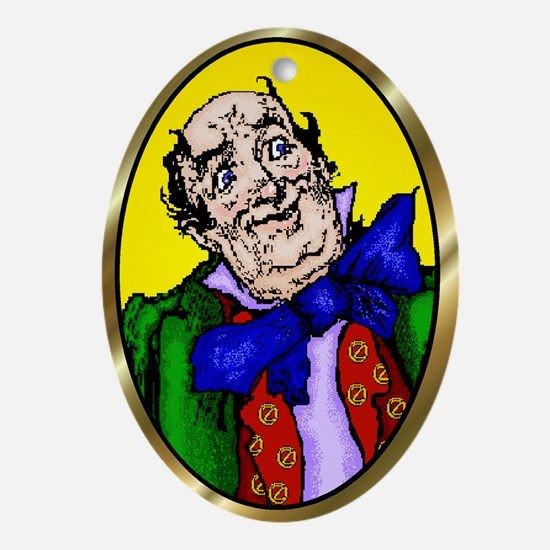 Wizard of Oz Yellow Ornament  (Oval)