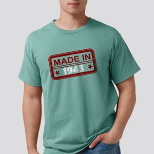 Stamped Made In 1943 Mens Comfort Colors Shirt