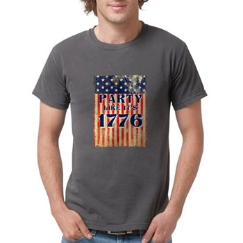 Party Like It's 1776 Mens Comfort Colors Shirt