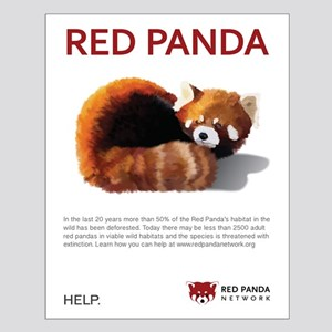 Red Panda Network - Help: Large Poster 16 x 20 in