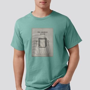 To Serve Man Minimal Pos Mens Comfort Colors Shirt
