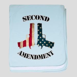 Second Amendment baby blanket