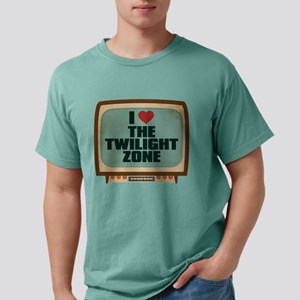 Retro I Heart The Twilight Zo Mens Comfort Colors