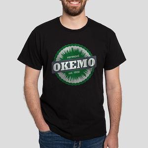 Ski Resort Vermont Dark Green Dark T-Shirt