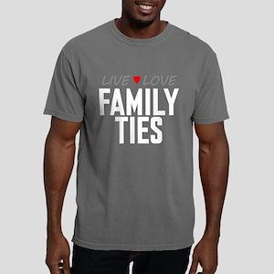 Live Love Family Ties Mens Comfort Colors Shirt