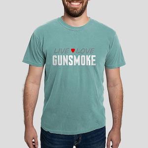 Live Love Gunsmoke Mens Comfort Colors Shirt