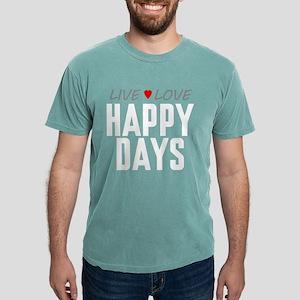 Live Love Happy Days Mens Comfort Colors Shirt