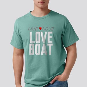 Live Love Love Boat Mens Comfort Colors Shirt