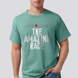 Live Love The Amazing Race Mens Comfort Colors Shi