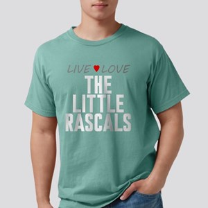 Live Love The Little Rascals Mens Comfort Colors S