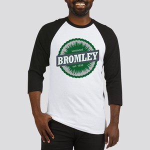 Ski Resort Vermont Dark Green Baseball Jersey