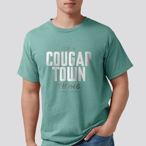It's a Cougar Town Thing Mens Comfort Colors Shirt
