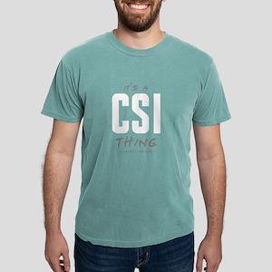It's a CSI Thing Mens Comfort Colors Shirt