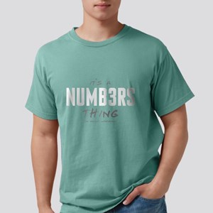 It's a Numb3rs Thing Mens Comfort Colors Shirt
