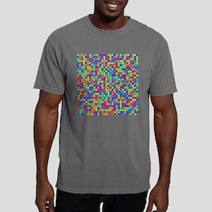 Rainbow Pi Visualization Mens Comfort Colors Shirt