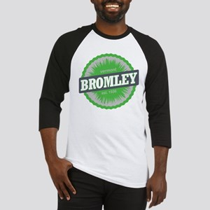 Ski Resort Vermont Lime Green Baseball Jersey