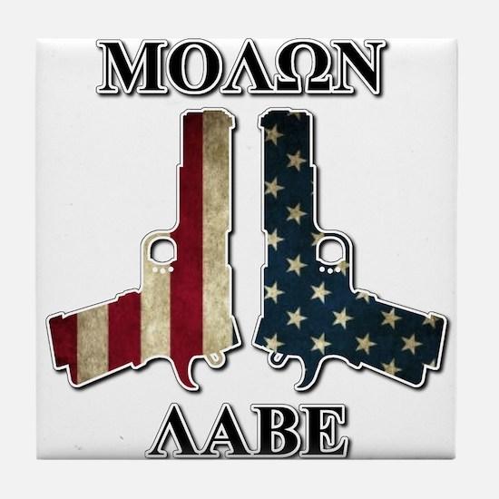 Molone Labe (Come and Take Them) Tile Coaster