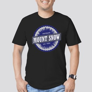 Ski Resort Vermont Navy Blue Men's Fitted T-Shirt