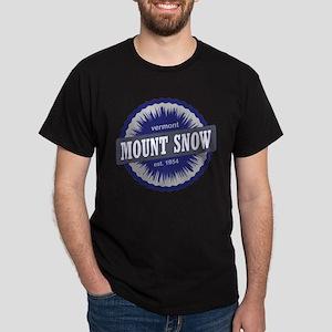 Ski Resort Vermont Navy Blue Dark T-Shirt