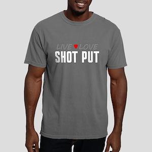 Live Love Shot Put Mens Comfort Colors Shirt
