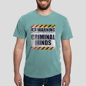 Warning: Criminal Minds Mens Comfort Colors Shirt