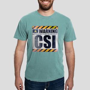 Warning: CSI Mens Comfort Colors Shirt
