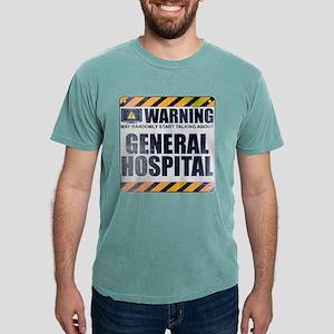Warning: General Hospital Mens Comfort Colors Shir