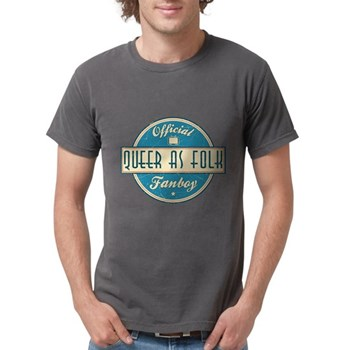 Offical Queer as Folk Fanboy Mens Comfort Colors S