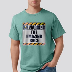 Warning: The Amazing Race Mens Comfort Colors Shir