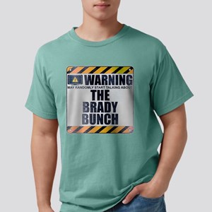 Warning: The Brady Bunch Mens Comfort Colors Shirt