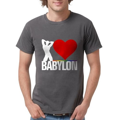 I Heart Babylon Mens Comfort Colors Shirt