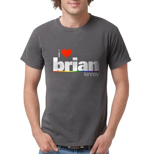 I Heart Brian Kinney Mens Comfort Colors Shirt