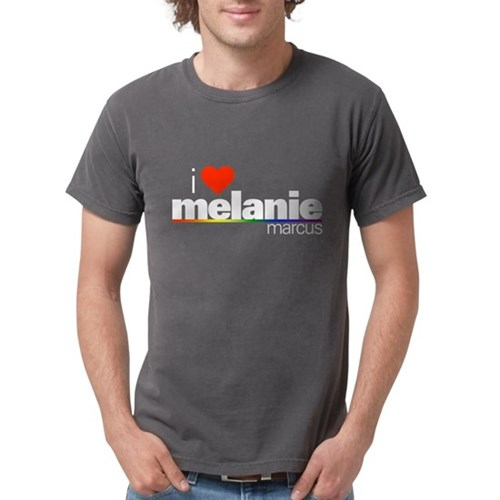 I Heart Melanie Marcus Mens Comfort Colors Shirt