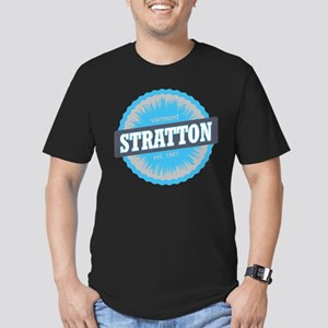 Ski Resort Vermont Sky Blue Men's Fitted T-Shirt (