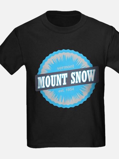 Ski Resort Vermont Sky Blue T