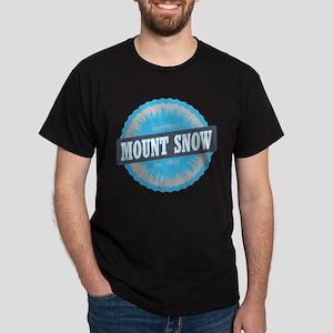 Ski Resort Vermont Sky Blue Dark T-Shirt