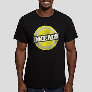 Ski Resort Vermont Yellow Men's Fitted T-Shirt (da