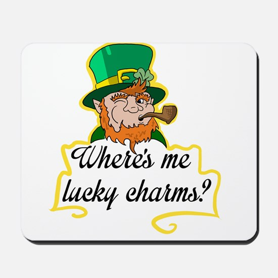 Lucky Charms Mousepad